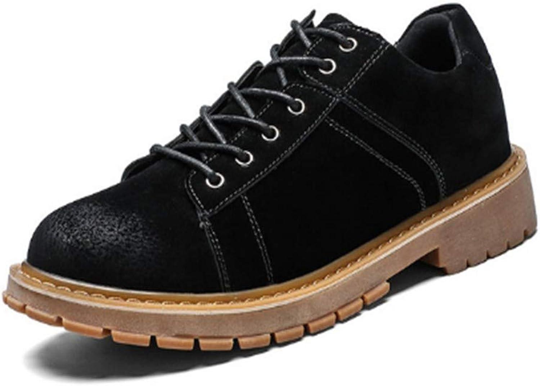 FMWLST FMWLST FMWLST Stiefel PU Herren Stiefel Herbst Und Winter Stiefeletten Schnürschuhe Männer Hohe Qualität Herrenschuhe  88f95f
