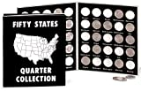 Fox Valley Traders Commemorative State Quarters Black White Album