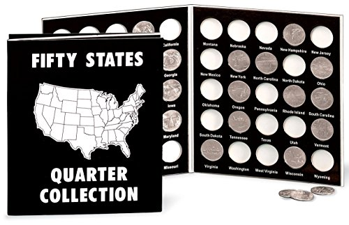 Fox Valley Traders Commemorative State Quarters Black White Album