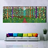 Cuadro en lienzo Gran póster Impresión de arte de pared para sala de estar, dormitorio Paisaje Imágenes A 12x32cm