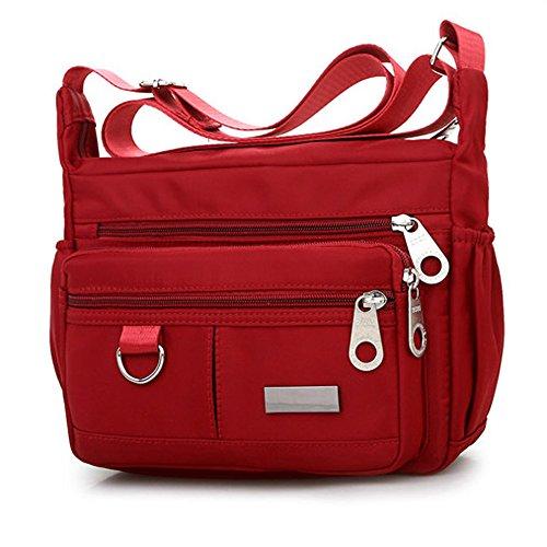 Btruely Damen Handtasche Groß Modisch Umhängetasche Multi Tasche Schultertasche Hobo für Reisen Schule Shopping und Arbeit Canvas Brieftasche Cross-Body Tasche Mini-Tasche Handytasche
