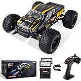 BEZGAR Auto radiocomandata in scala 1:10, 42 km/h All Terrains giocattolo elettrico fuoristrada RC Monster auto con 2 batterie ricaricabili per bambini e adulti