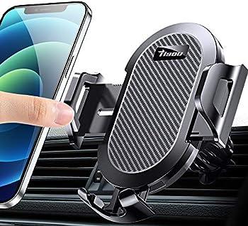 TISOU Metal Air Vent Clip Cell Phone Holder Car Phone Holder Mount