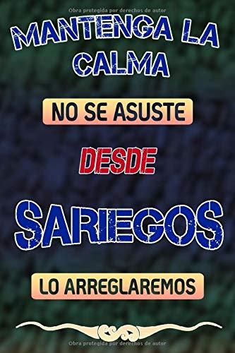 Mantenga la calma no se asuste desde Sariegos lo arreglaremos: Cuaderno | Diario | Diario | Página alineada
