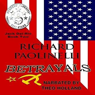Betrayals audiobook cover art