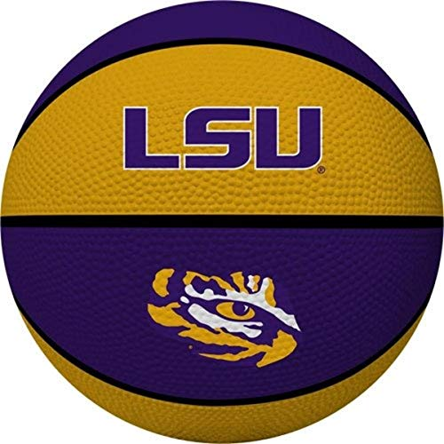 Why Should You Buy Rawlings NCAA Louisiana State Fightin Tigers Alley OOP Dunk Basketball