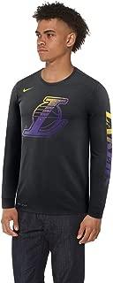 Nike NBA Los Angeles Lakers Mezzo Logo Long Sleeve Dri-Fit T-Shirt