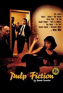 Pulp Fiction Movie Poster (27 x 40 Inches - 69cm x 102cm) (1994) Style C -(John Travolta)(Samuel L. Jackson)(Uma Thurman)(Harvey Keitel)(Tim Roth)(Amanda Plummer)