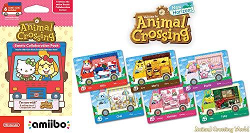 Amiibo Karten: Animal Crossing: New Leaf – Sanrio Collaboration Pack (6 Stück) - 9
