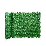 Newin star artificial pantalla valla de privacidad, seto verde de la hoja artificial para valla de privacidad patio, paredes vegetación, inicio decoraciones del jardín del patio trasero 0. 5x3m