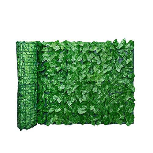 Newin Star Artificial Pantalla Valla de privacidad, Seto Verde de la Hoja Artificial para Valla de privacidad Patio, Paredes vegetación, Inicio Decoraciones del jardín del Patio Trasero 0.5X3M