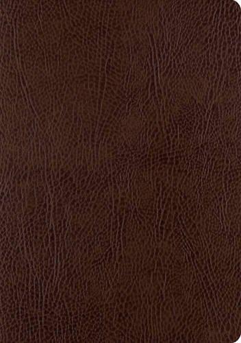 ESV Single Column Journaling Bible, Large Print (Mocha)