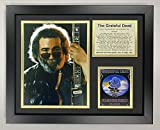 Jerry Garcia- The Grateful Dead Collectible | Framed Photo Collage Wall Art Decor - 12'x15' | Legends Never Die