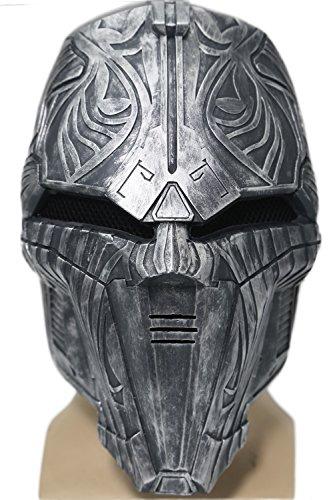 Xcoser Sith Maske Cosplay Halloween Karneval Herren Erwachsener Harz Gesichts Sturz Helm Kostüm Stütze Verrücktes Kleid