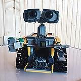 Rawikan 687 piezas de bloques de construcción idea modelo robot bloque de construcción bloques de construcción juguetes para niños (compatibles con Lego)