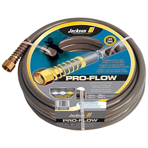 Jackson 4003800 PVC Pro-Flow Heavy Duty Professional Hose, 5/8 in. x 100 ft