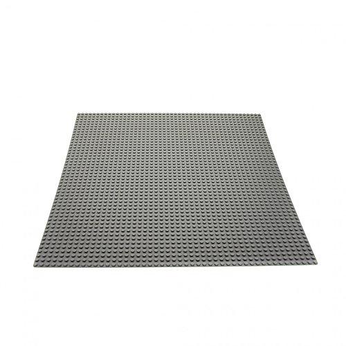 1 x Lego System Bau Basic Platte neu-hell grau 38x38 cm 48x48 Noppen Space Mosaik Mosaic 10701 628 4186