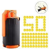 DUS T238 Bombe Granate Spielzeug Handgranate mit 50er Bälle Pfeile für Nerf
