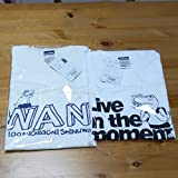 100日後に死ぬワニ Tシャツ Lサイズ 2枚セット ホワイト 綿100% 約身丈73 身幅55cm