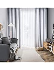 AIFY カーテン 1級 遮光 小窓 ドレープカーテン UVカット 形態記憶加工済み 断熱 節電対策 昼夜目隠し 保温 おしゃれ 洗える 洗濯機対応