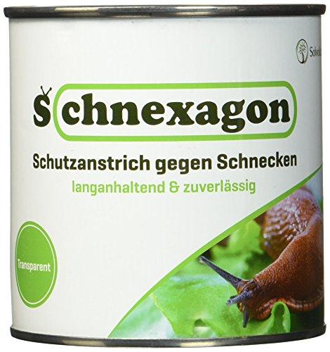 Schnexagon 03821 Schutzanstrich gegen Schnecken 375ml Dose | Bekannt Aus