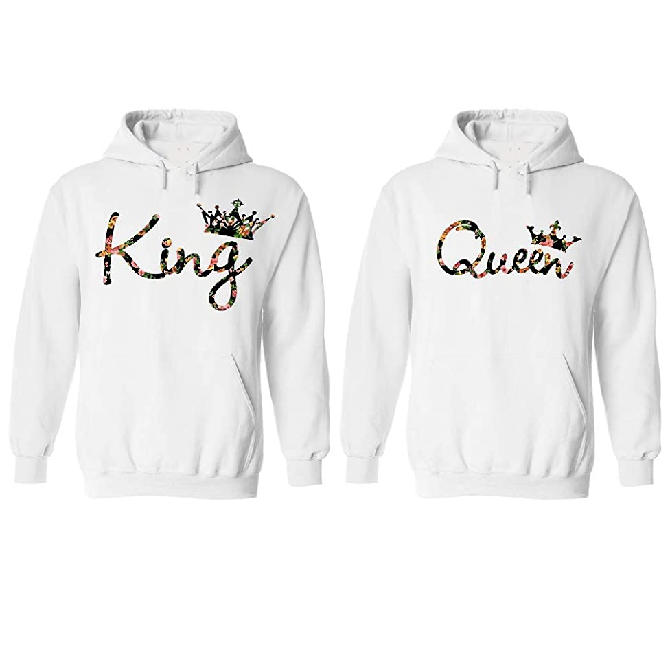 Couple Hoodies Set, Gift for him and her Matching Newlywed Anniversary Wedding Couples Hoodie