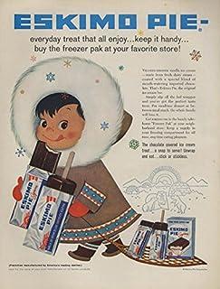 Everyday treat that all will enjoy Eskimo Pie ad 1958 L