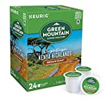Keurig Coffee Pods K-Cups 16 / 18 / 22 / 24 Count Capsules ALL BRANDS / FLAVORS (24 Pods Green Mountain - Kenya Highlands)