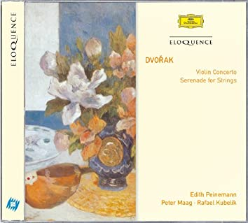 Dvorak: Violin Concerto; Serenade for Strings