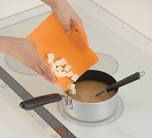 イノマタ化学まな板食材別ミニシート4枚セット約19×29.2cm×厚さ1mm0079