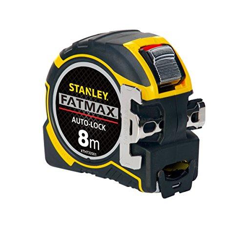 STANLEY XTHT0-33501 - Flexómetro AutoLock 8 metros x 32mm, gancho XL magnético
