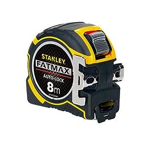 51vLZvOGcPL. SS300  - STANLEY XTHT0-33501 - Flexómetro AutoLock 8 metros x 32mm, gancho XL magnético