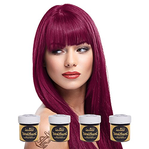 La Riche Directions Semi Permanent Rubine Hair Colour Dye x 4