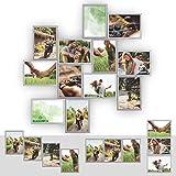 Kunststoff Bilderrahmen Fotorahmen Collage zum individuellen gestalten 12x 13x18cm...