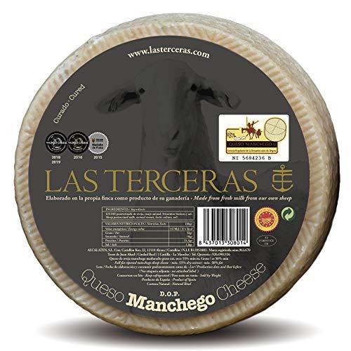 Las Terceras queso manchego curado DOP 2500 gr