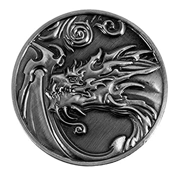 Paladin Roleplaying Dragon D2 Coin