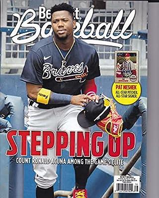 June 2021 Price Guide Baseball Price Guide Magazine Vol 21 No 6 Ronald Acuna Jr.