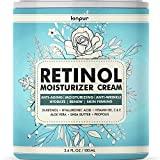 Anti Aging Retinol Moisturizer Cream for Face - Facial Cream with Hyaluronic Acid and 3% Retinol Complex - Natural Wrinkle Cream for Women and Men - Night Cream Made in the USA