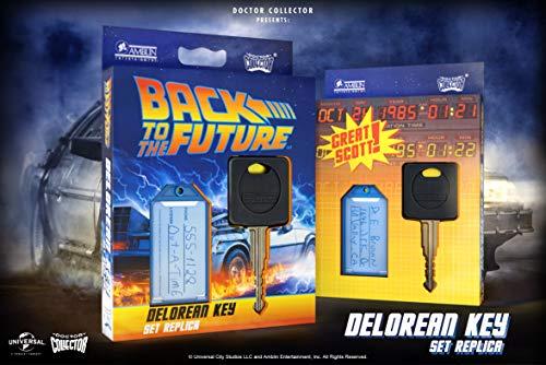 Doctor Collector- REGRESO AL FUTURO Delorean Key