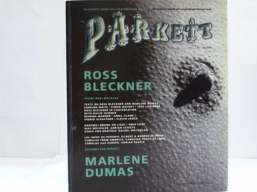 The Parkett Series with contemporary artists. Die Parkett-Reihe mit Gegenwartskünstlern. No. 38