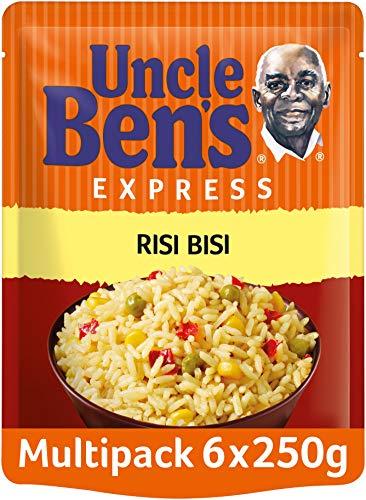 Uncle Ben's Express-Reis Risi Bisi, 6 Packungen, (6 x 250g)