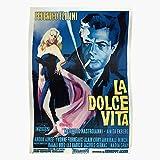 tuqpei Vita Italian Vintage La Film Cinema Federico Fellini