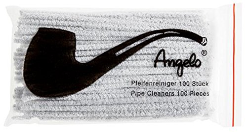 100 Angelo Scovolini - Bastoncini per pulizia pipa, confezione da 100 pezzi