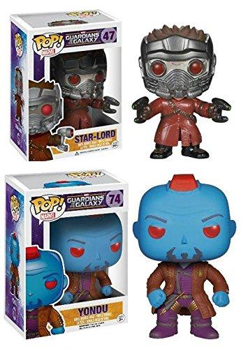 Funko POP! Marvel: Guardianes de la Galaxia: Star-Lord + Yondu