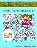 Gigantic Dinosaur Coloring Book For Kids: 40 Image Kentrosaurus, Kronosaurus, Protoceratops, Dinosaur, Excavation, Scutellosaurus, Gallimimus, ... Image Quiz Words Activity And Coloring Books