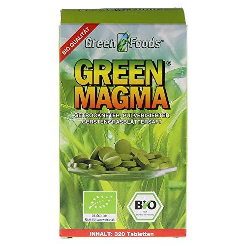 GREEN MAGMA Gerstengrasextrakt Tabl., 320 St