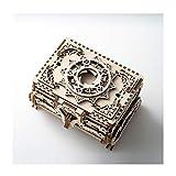 Caja de Música para Niñas Caja de almacenamiento de joyería de caja de música de caja de música ensamblada a mano for hombres y femeninos cumpleaños regalos creativos de Navidad Caja de música temátic