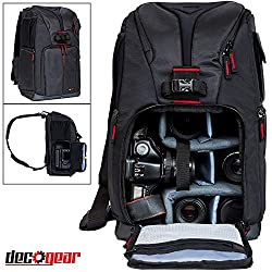 best camera bag for gripped dslr