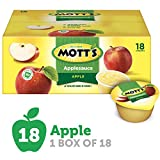 Mott's Applesauce Cups, 4 Ounce - 18 Containers