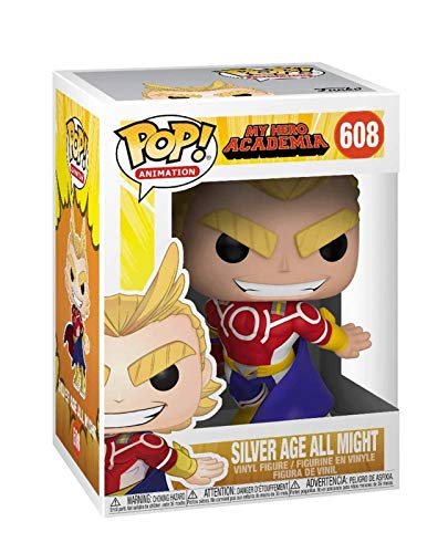 FreeStar Funko Pop Animtion : My Hero Academia - Silver Age All Might 3.75inch Vinyl Gift for Anime Fans Multicolur